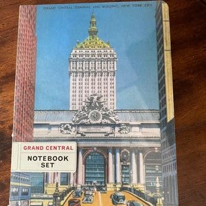 Two Grand Central NYC notebooks NWT